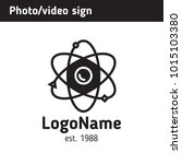 sign on the theme of science... | Shutterstock .eps vector #1015103380