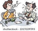 cartoon vector illustration of...   Shutterstock .eps vector #1015109593