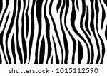 zebra print. ink painting.... | Shutterstock .eps vector #1015112590