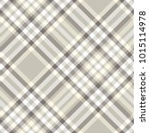 plaid check pattern in taupe... | Shutterstock .eps vector #1015114978
