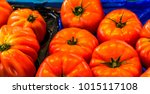 close up of fresh organic... | Shutterstock . vector #1015117108