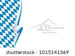 bavaria abstract flag brochure... | Shutterstock .eps vector #1015141369