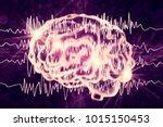 epilepsy awareness concept.... | Shutterstock . vector #1015150453