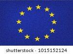 european union flag  official... | Shutterstock .eps vector #1015152124