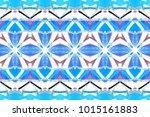 melting colorful symmetrical...   Shutterstock . vector #1015161883