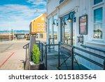 trondheim  norway   july 27 ...   Shutterstock . vector #1015183564