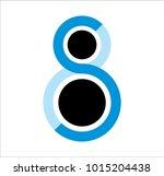 logo letter s | Shutterstock .eps vector #1015204438
