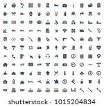 service silhouette icon | Shutterstock .eps vector #1015204834