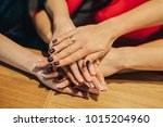 the palm team | Shutterstock . vector #1015204960