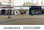 bristol  england   feb 1  2018  ... | Shutterstock . vector #1015212883