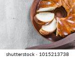 traditional wicker homemade...   Shutterstock . vector #1015213738