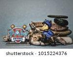 nis  serbia   january 26  2018  ... | Shutterstock . vector #1015224376