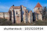 the slimnic fortress.... | Shutterstock . vector #1015233934