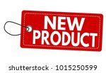 new product label or price tag... | Shutterstock .eps vector #1015250599