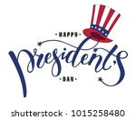 happy president's day design... | Shutterstock .eps vector #1015258480