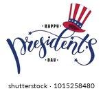 happy president's day design... | Shutterstock .eps vector #1015258480