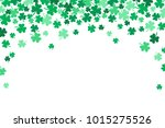 saint patricks day falling... | Shutterstock .eps vector #1015275526