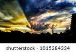 sky. hdr. silhouette | Shutterstock . vector #1015284334