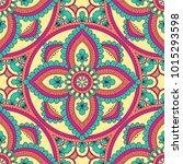 hand drawn ornamental seamless...   Shutterstock .eps vector #1015293598