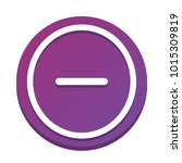 negative symbol illustration....   Shutterstock .eps vector #1015309819