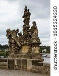 Ancient Sculptures At Charles...