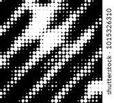 grunge halftone black and white ... | Shutterstock . vector #1015326310