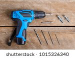 close up electric drill  drill...