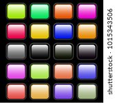 colorful set of web buttons... | Shutterstock .eps vector #1015343506