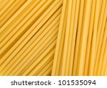 Closeup of spaghetti pasta - stock photo