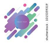 minimalist design  creative...   Shutterstock .eps vector #1015359319