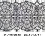 the texture of fabric lace. ... | Shutterstock . vector #1015392754