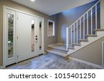 chic traditional entryway ... | Shutterstock . vector #1015401250
