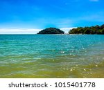langkawi island  malaysia  ... | Shutterstock . vector #1015401778