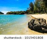 langkawi island  malaysia  ... | Shutterstock . vector #1015401808
