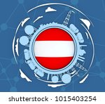 circle with energy relative... | Shutterstock . vector #1015403254
