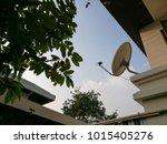 White Tv And Internet Satellit...