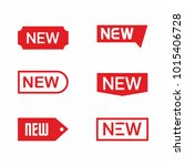 new tag icon set  label ang... | Shutterstock .eps vector #1015406728
