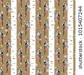 seamless geometrical pattern... | Shutterstock .eps vector #1015407244