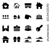 origami style icon set   family ... | Shutterstock .eps vector #1015410190