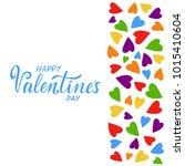vector illustration of happy... | Shutterstock .eps vector #1015410604