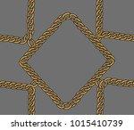 seamless chain  geometric .... | Shutterstock .eps vector #1015410739
