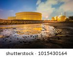 oil and gas refinery industrial ... | Shutterstock . vector #1015430164