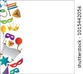 hug purim colorful background | Shutterstock .eps vector #1015442056