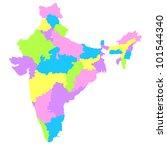india | Shutterstock .eps vector #101544340