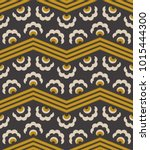 seamless retro pattern with... | Shutterstock .eps vector #1015444300