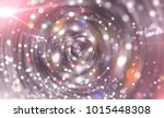 abstract background pink tunnel.... | Shutterstock . vector #1015448308