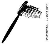 vector make up cosmetic mascara ... | Shutterstock .eps vector #1015454044