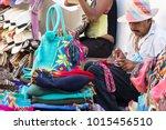 cartagena  colombia   january... | Shutterstock . vector #1015456510