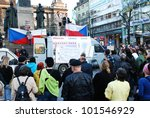 prague  czech republic   march... | Shutterstock . vector #101546929