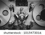 macro close up of vintage...   Shutterstock . vector #1015473016